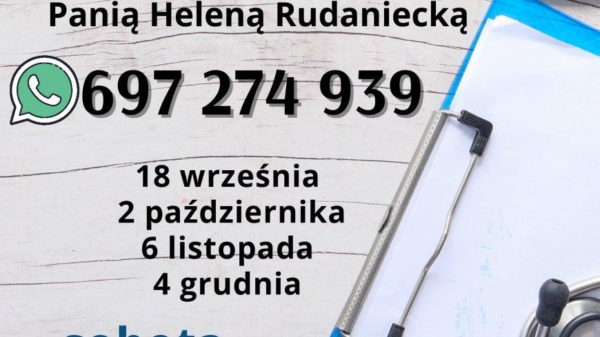 informacje dotyczące konsultacji z pielęgniarką